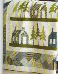 Humble Homes Quilt, by Kay Gentry of Noble Needle Quilting &  Sewing-----great way to use the schoolhouse and tree appliques.
