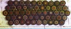 "Penny Rug Circles Table Runner by Shawn Williams of Threads that Bind --- great way to use our 4/12"" circles"