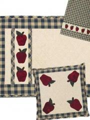 Use Appliques to embellish placemats, napkins & potholders
