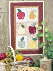 Another creative idea for a banner using various colors of apples
