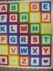 2014 February, Carol Muprhy is really busy.  Her grandkids will certainly know their alphabet