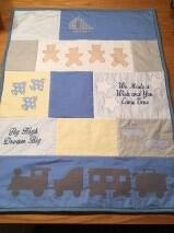 2016 - march, laura's second adorable baby quilt... They are really cute