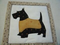 2016 - March - Scottie Mug Rugs