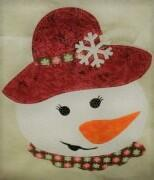 Kit Snowlady W Floppy Hat Laser Cut
